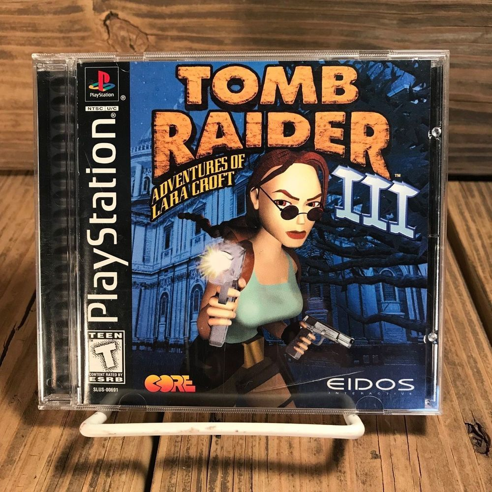 Tomb Raider Iii Adventures Of Lara Croft Ps1 Playstation 1