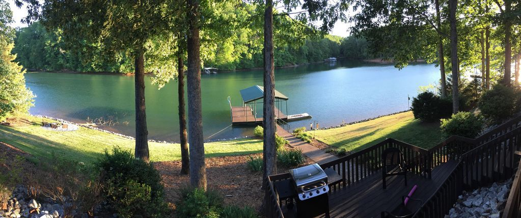 Beautiful waterfront home w private dock perfect for