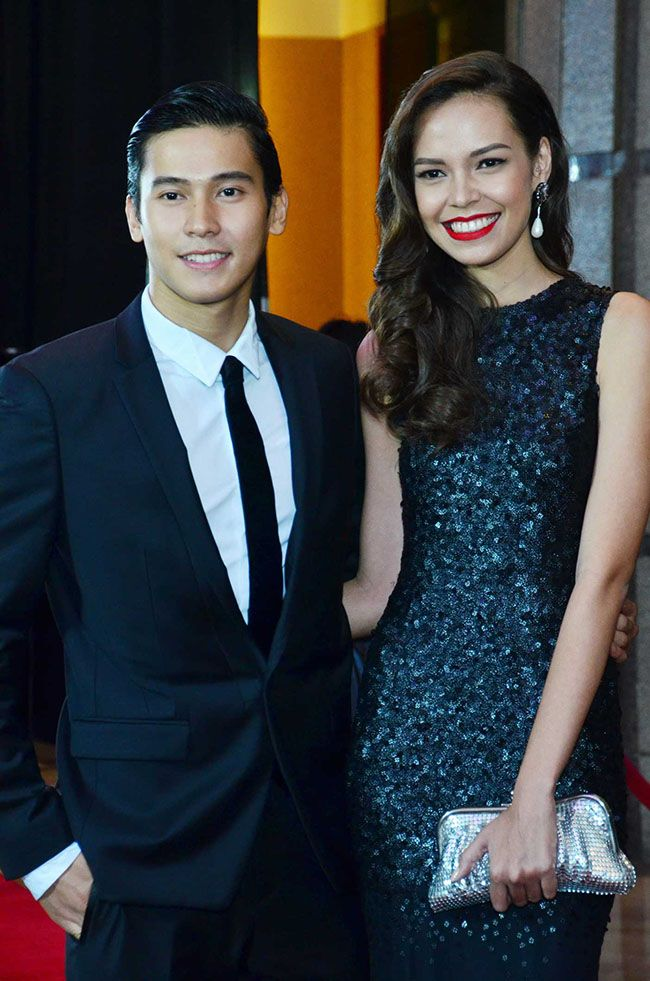 Actor Enchong Dee In A Calvin Klein Suit With His Girlfriend Sam