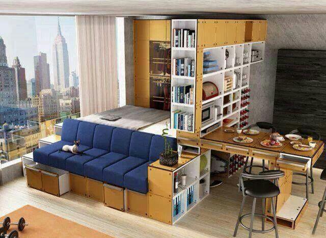 Studio Apartment Decorating, Furniture For Studio Apartments