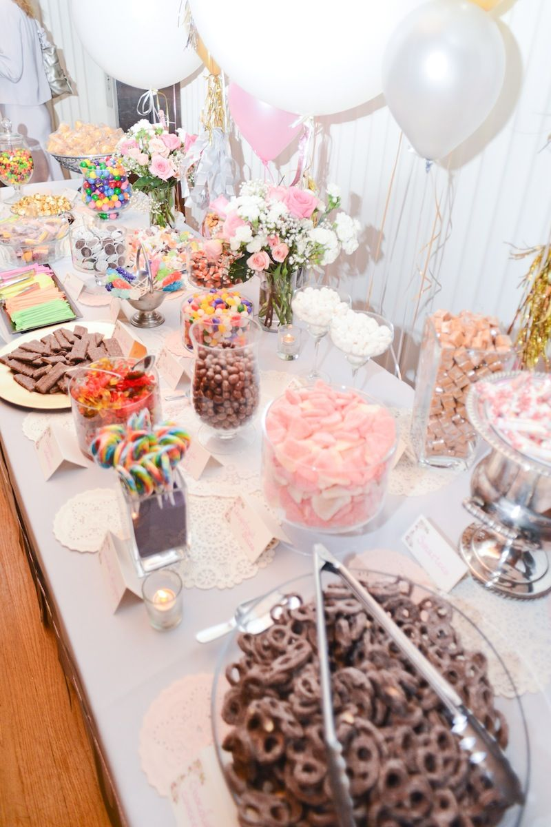 Diy Candy Buffet Diy Candy Buffet Candy Buffet Set Diy Candy Bar
