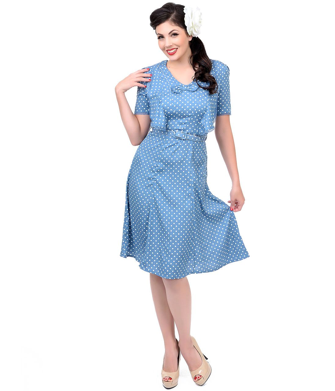 Blues swing cocktail dress