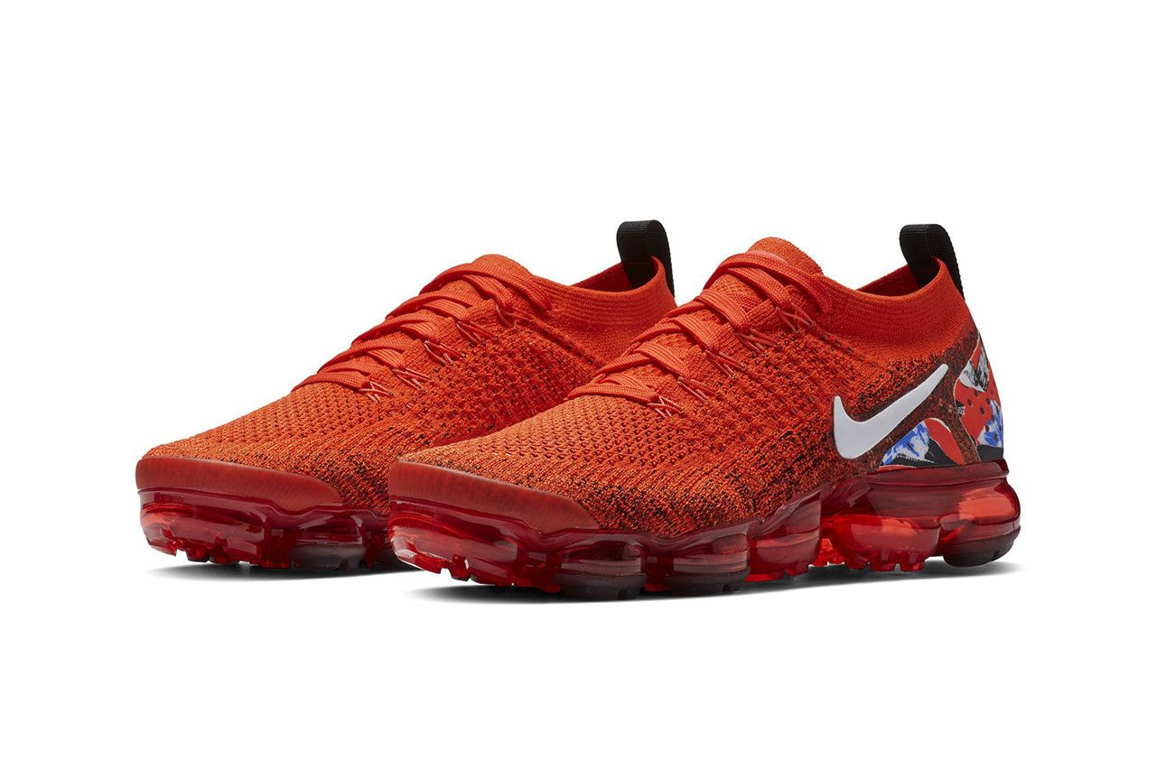 aa3a4761a7346 Nike Air Vapormax Flyknit 2.0 Red First Look First Look Shoes Sneakers  Trainers Kicks Footwear Cop Purchase Buy First Look Details Chinese New Year