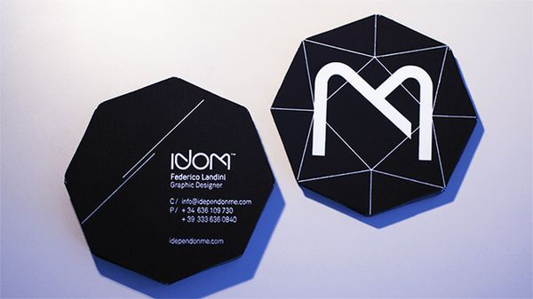 Black diamond business card by federico landini via behance black diamond business card by federico landini via behance colourmoves