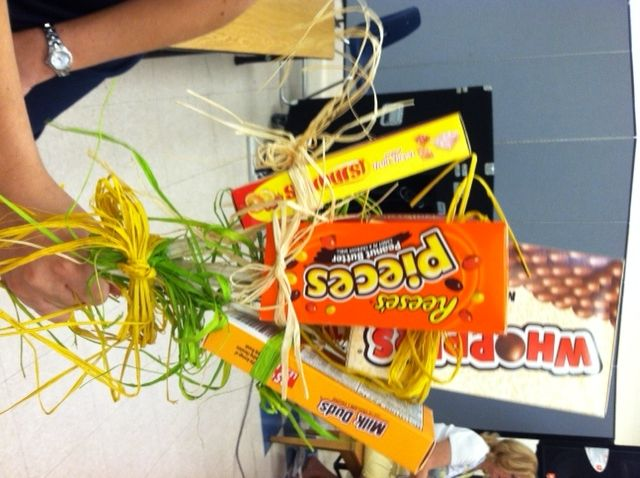Movie Theater Candy Bouquet Gift idea for a boy after a