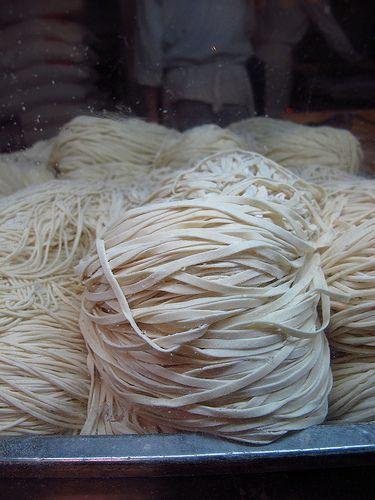 Restaurante chino-asiático Ni Hao: fideos chinos frescos