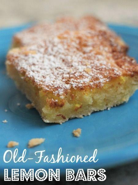 Fashioned Lemon Cookie Recipe: Old-Fashioned Lemon Bars