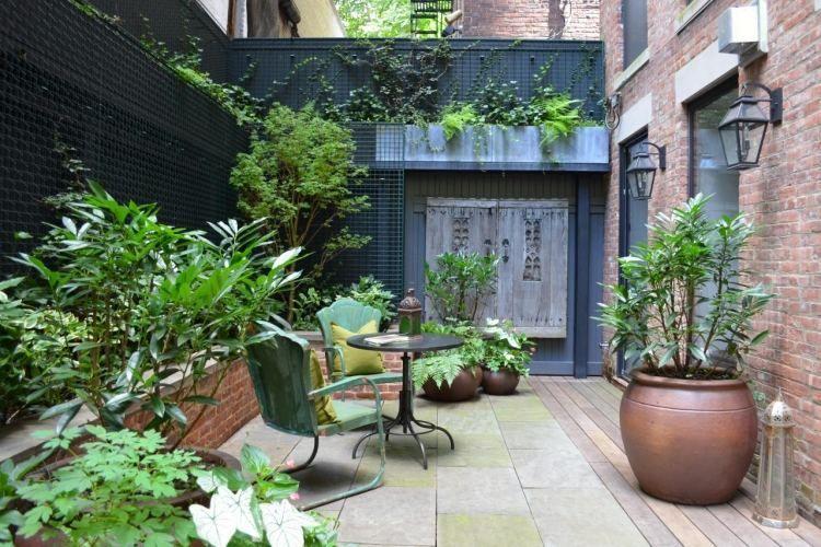 Petit Jardin Avec Coin De Repos Comment Amenager Un Jardinet