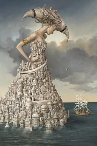 she is the city by the sea, I can't find the artist name but