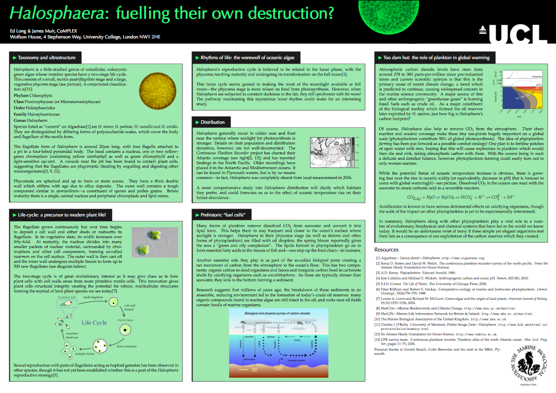 Biology Poster Template Postersresearch Free Powerpoint Long