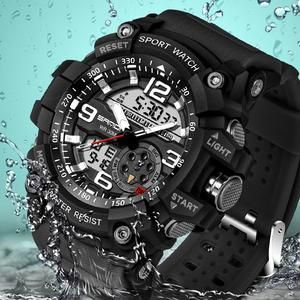 cade6014ebc ... watch Suppliers  SANDA brand fashion men s uniforms sports watch LED  outdoor waterproof digital watch men s electronic watches Relogio Masculino