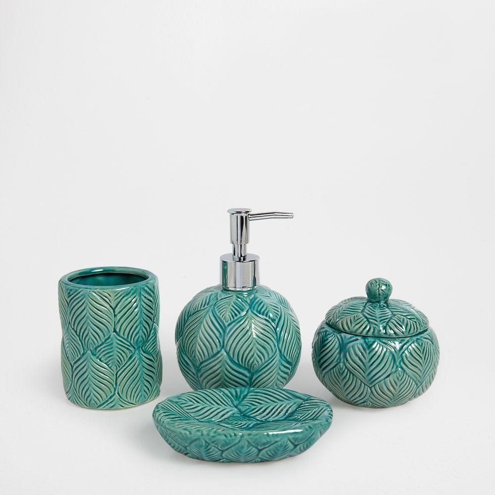 Accessoires Salle De Bain Zara Home ~ accessoires de bain c ramique bleue a la maison pinterest