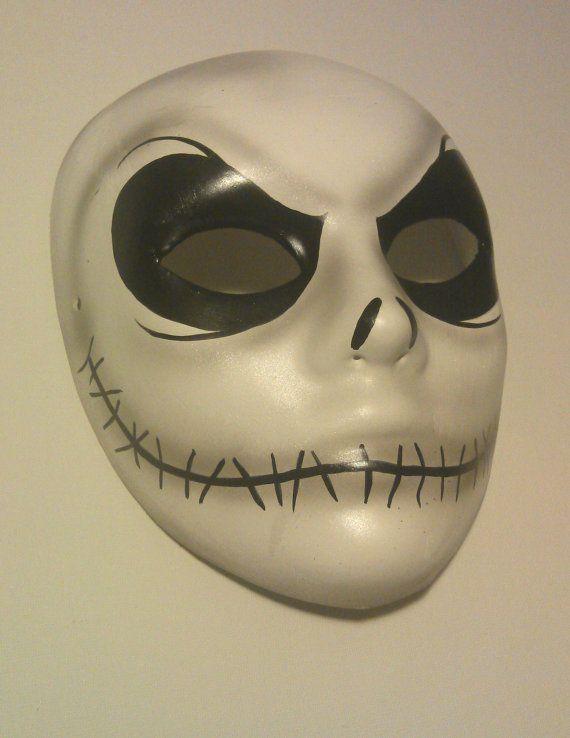 Nightmare Before Xmas Jack Skellington Mask By Piratesquarters