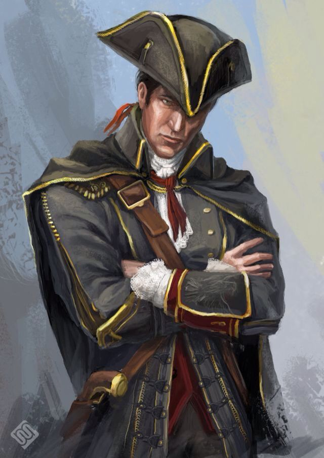 Haytham Fanart I Love It 3 Assassins Creed Art Assassin S