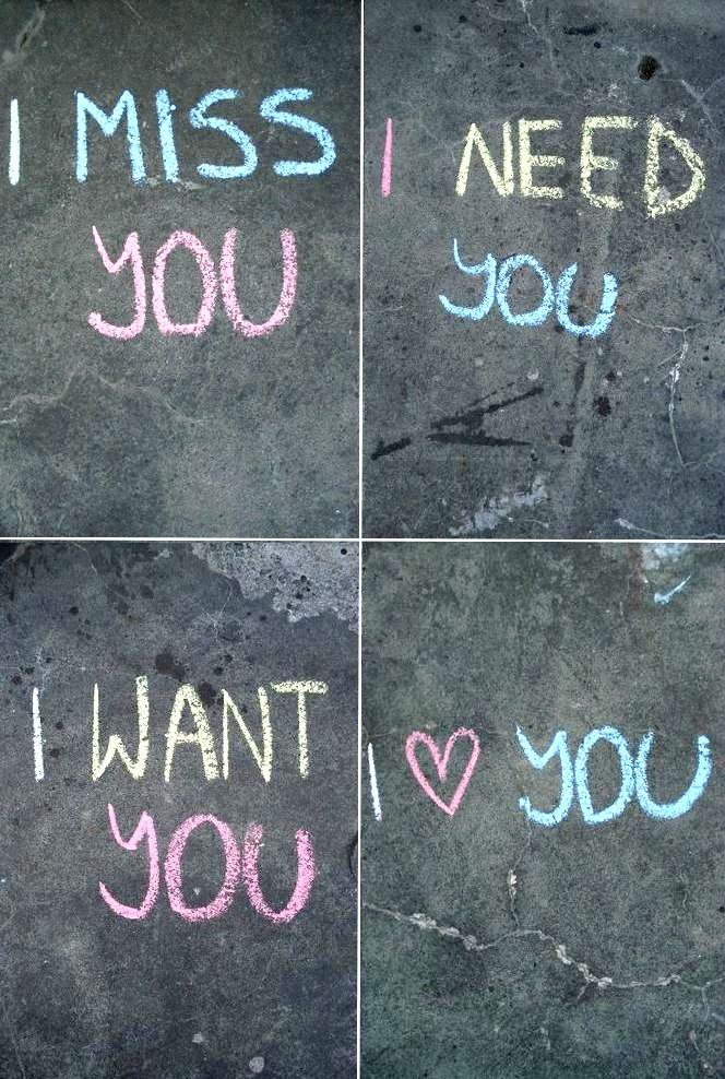 Cute Love Quotes Miss Need Want Love You Jpg 664 988 With