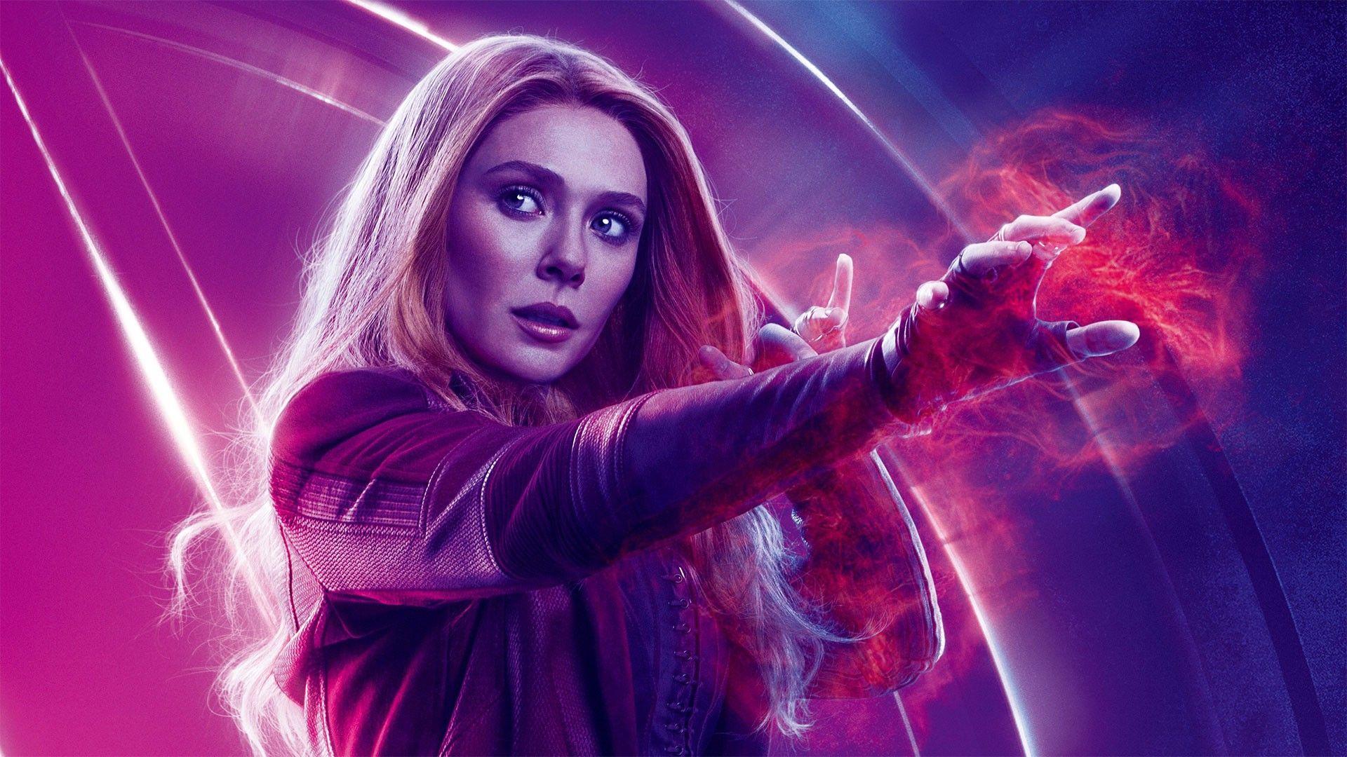 Elizabeth Olsen Scarlet Witch Avengers Endgame Wallpaper Hd Best Movie Poster Wallpaper Hd Scarlet Witch Avengers Scarlet Witch Marvel Scarlet Witch