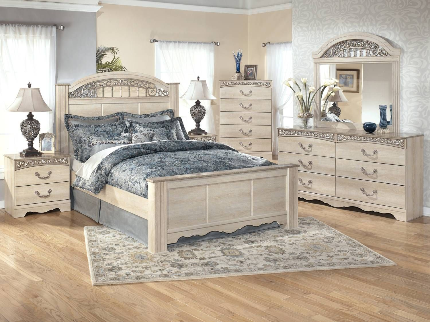 Shop For The Signature Design By Ashley Catalina Queen Bedroom Group At  Suburban Furniture   Your Succasunna, Randolph, Morristown, Northern New  Jersey ...