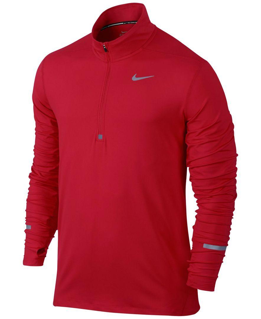 0cea8150f Nike Element Dri-fit Half-Zip Running Shirt | Products | Mens ...