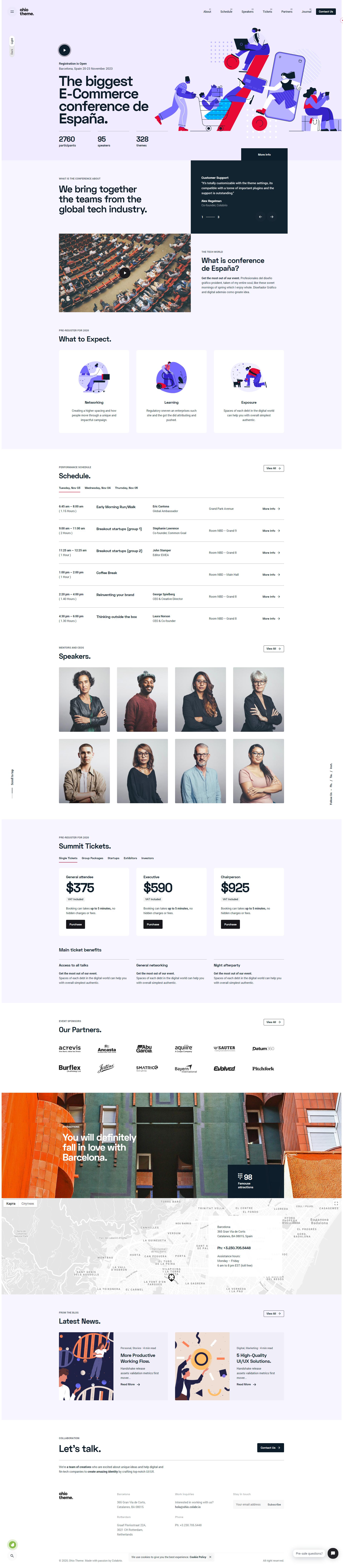 Ohio Creative Portfolio Agency Wordpress Theme Stylelib In 2020 Creative Portfolio Web Design Inspiration Web Design