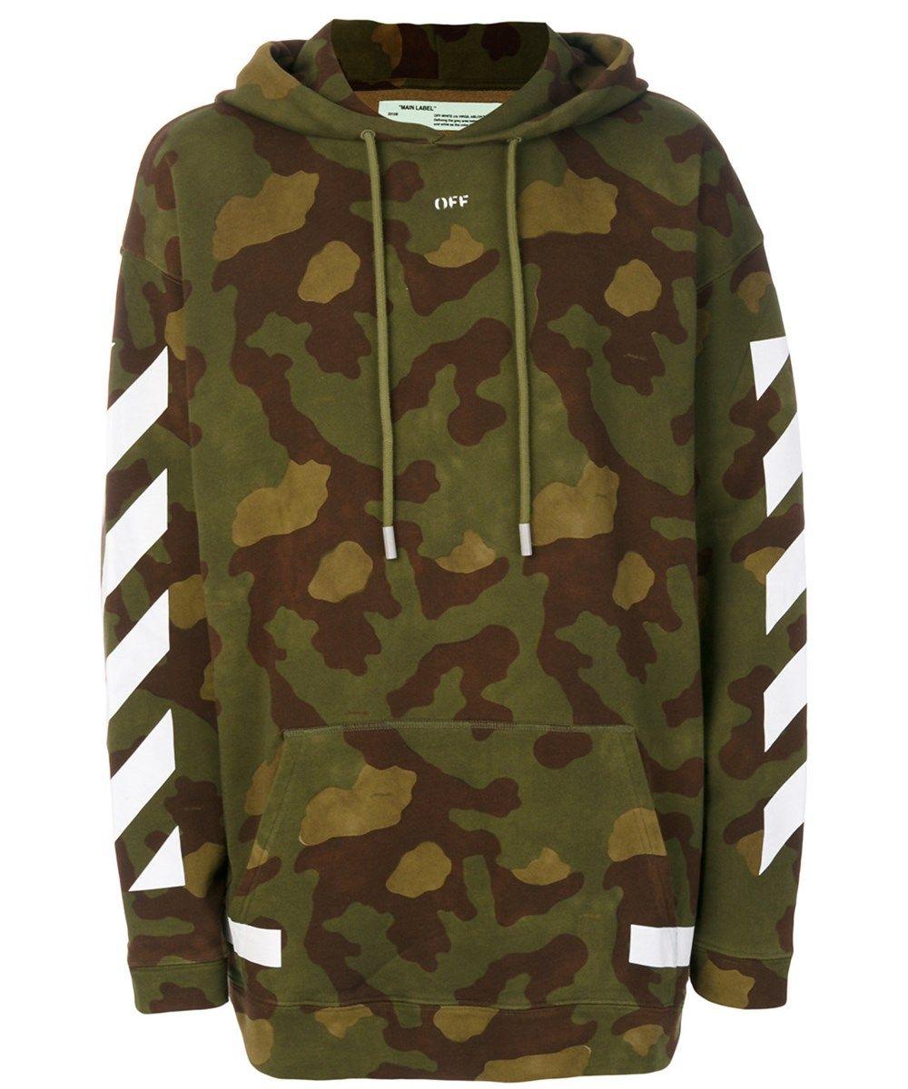 Off White Men S Green Cotton Sweatshirt Modesens Cotton Sweatshirts Indie Outfits Hoodies [ 1200 x 1000 Pixel ]
