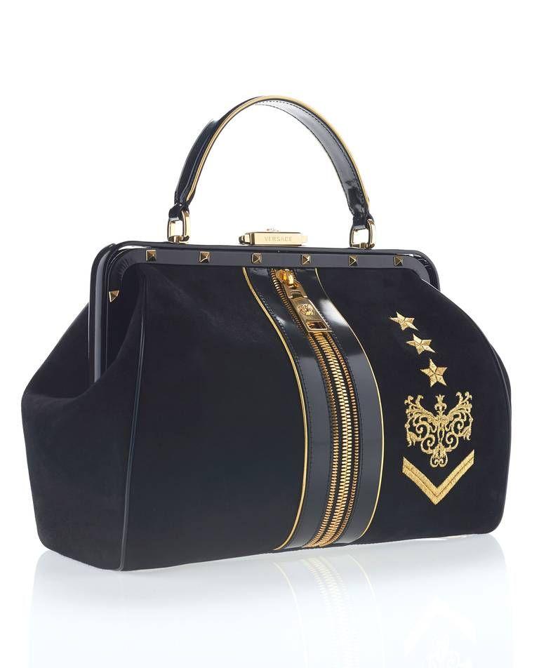 New versace zippered doctor bag versace duffle bag bags