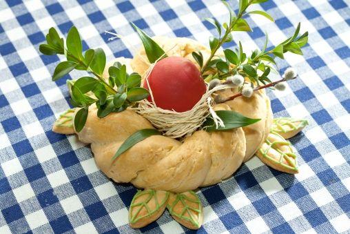 dekoracje wielkanocne - Ozdobny wianuszek wielkanocny - Przepisy kulinarne Tesco