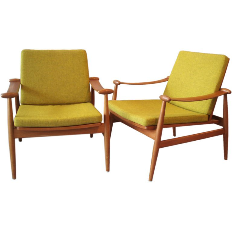 Finn Juhl For France And Sons Chair Teak Frame