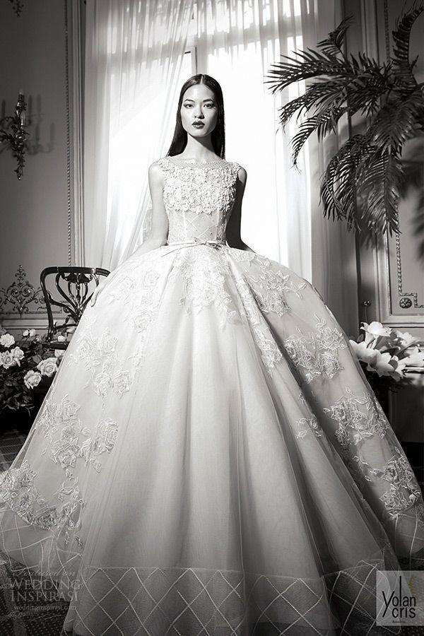 YolanCris Fall/Winter 2016 Wedding Dresses — Couture Capsule ...