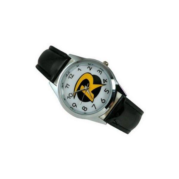 GBB18 DC Universe Batman Robin Superhero Boy Man Fashion Watch Xmas... ($15) ❤ liked on Polyvore featuring watches