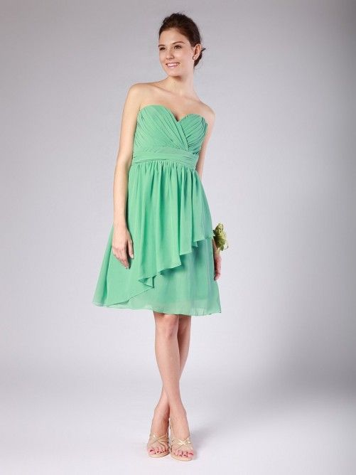 A-Line Elegant Holiday Cocktail Party Dress Sweetheart