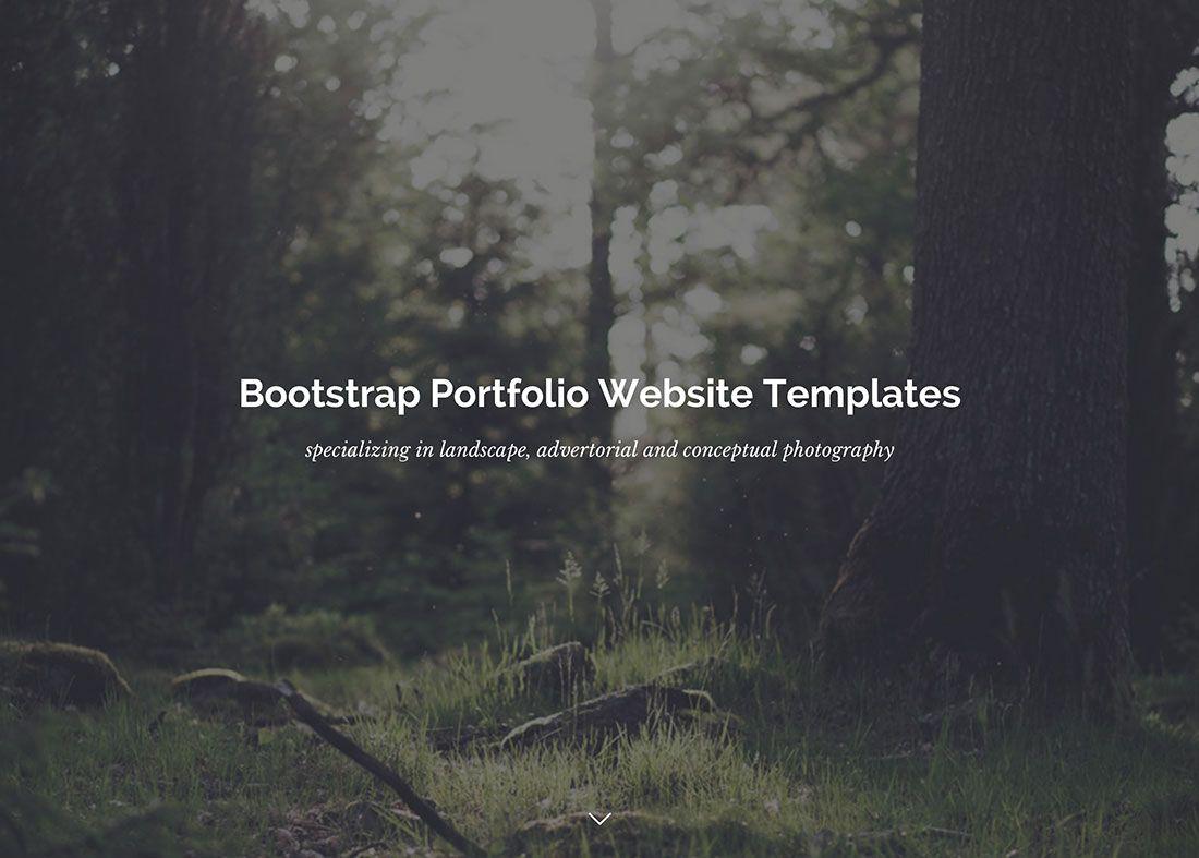 28 Best Bootstrap Portfolio Templates 2020