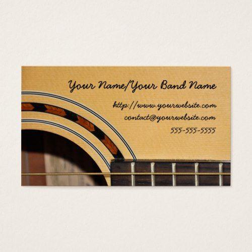 Guitar business card business cards pinterest business cards guitar business card colourmoves