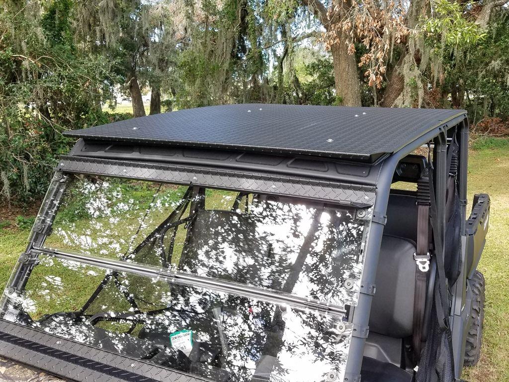 Can Am Defender Max Aluminum Roof Top Mk1 Aluminum Roof Can Am Defender