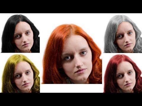 Gimp Tutorial Change Hair Color Photoshop Alternative 27 Youtube Color Photoshop Gimp Tutorial Change Hair Color
