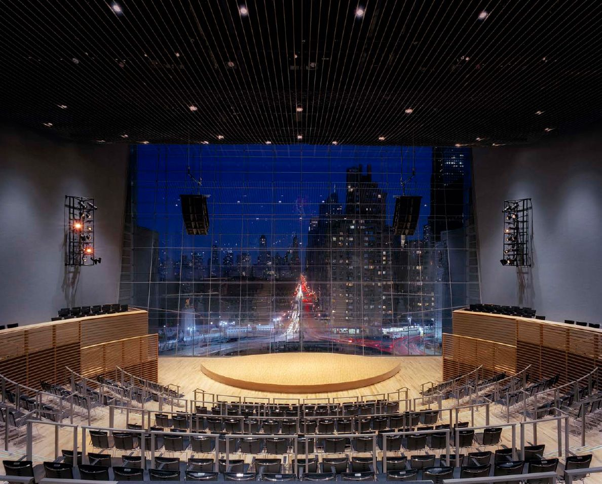 Wsdg Jazz At Lincoln Center Jazz At Lincoln Center Acoustics Design Architectural Inspiration