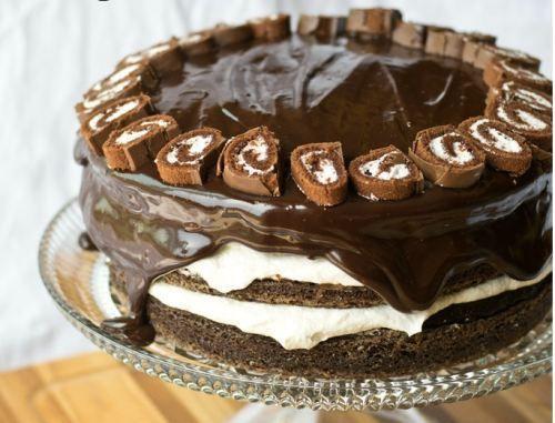 Ho Ho Layer Cake [RECIPE]