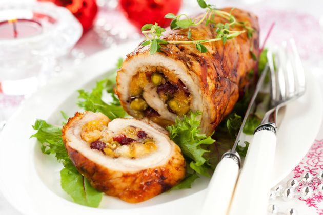 receta de pavo trufado de navidad