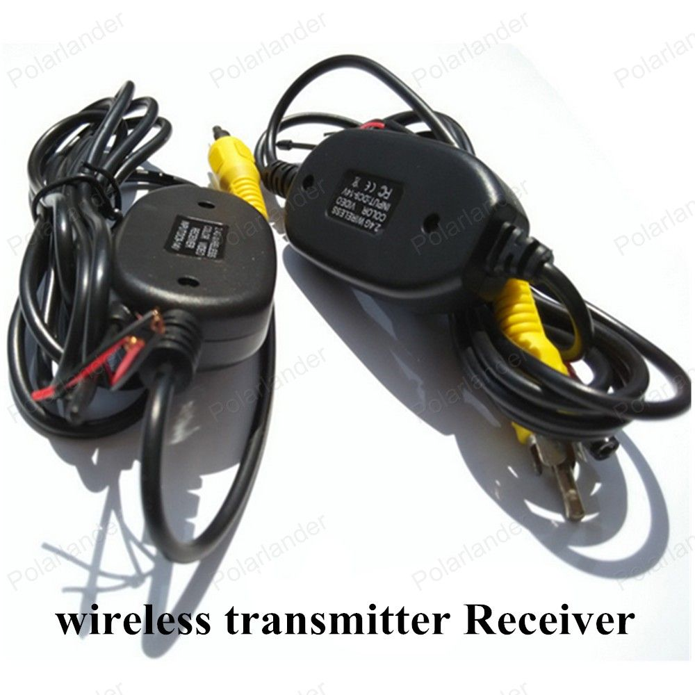 Parking Car Wireless Rear Camera Reverse Dvd Backup Rca Video Wiring Transmitter Receiver Kit For Nissan