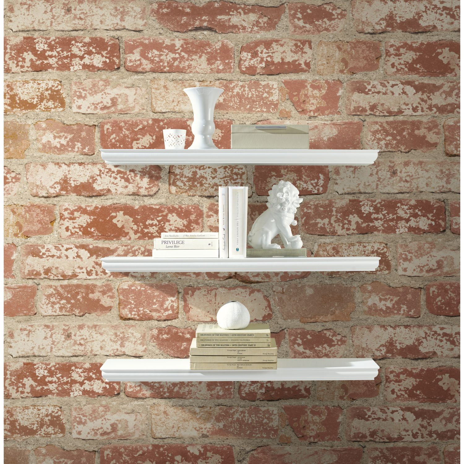 Overstock Com Online Shopping Bedding Furniture Electronics Jewelry Clothing More Brick Wallpaper Brick Wall Decor White Brick Wallpaper