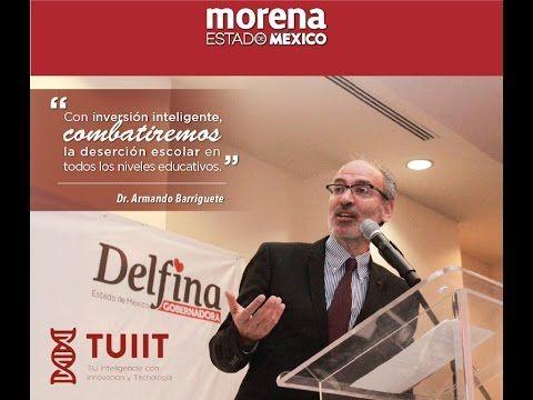 DELFINA GÓMEZ PRESENTA PROYECTO SOBRE EDUCACIÓN, CON EL EXPERTO DR. BA...