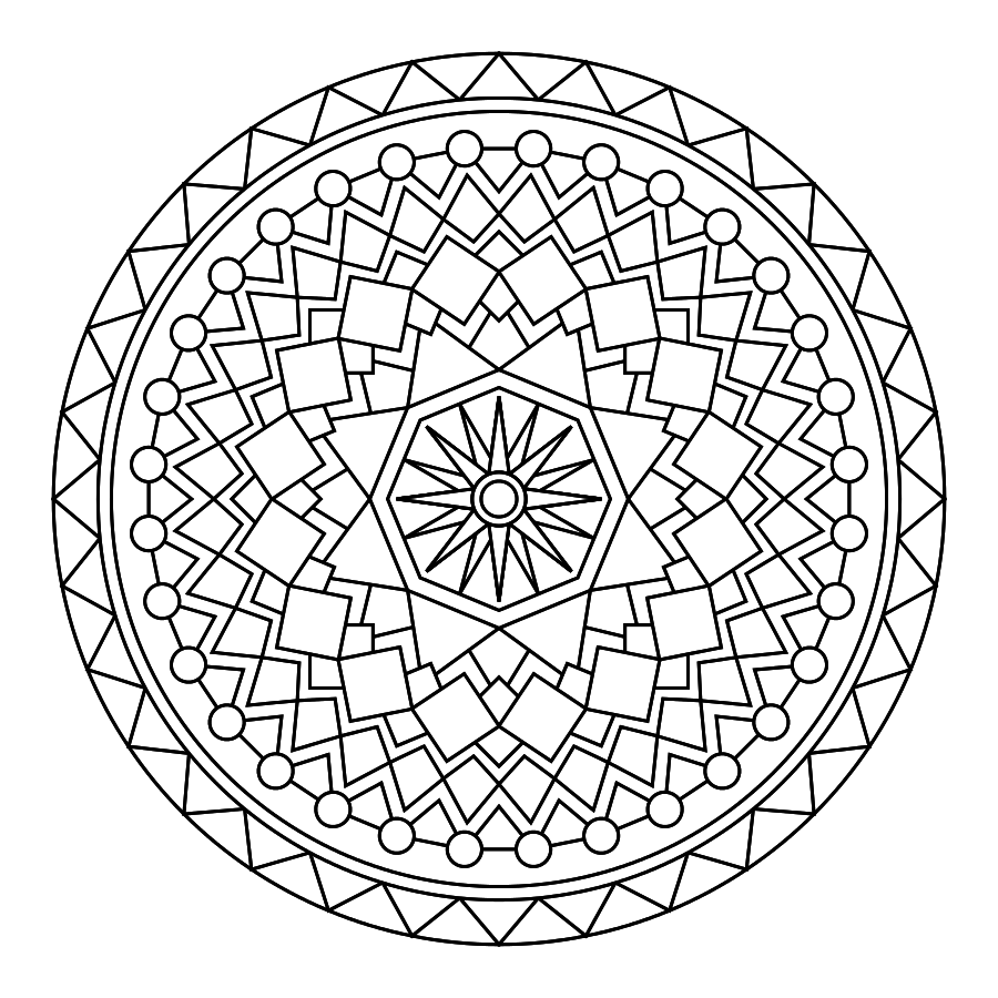 Take time to relax with your Little by coloring an activity for