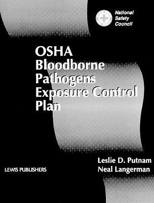 NEW OSHA Bloodborne Pathogens Exposure Control Plan by Neal - control plan