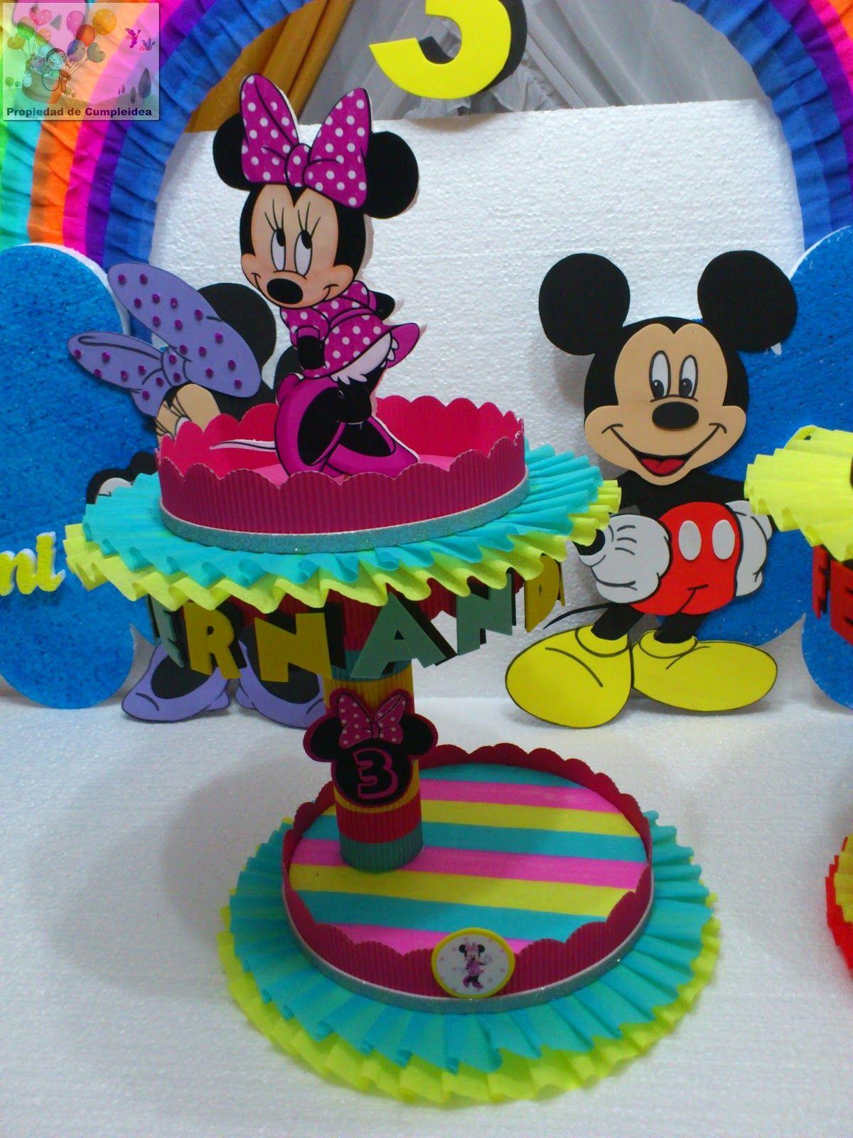 Decoraciones infantiles minnie y mickey mouse - Decoracion para fiestas infantiles mickey mouse ...
