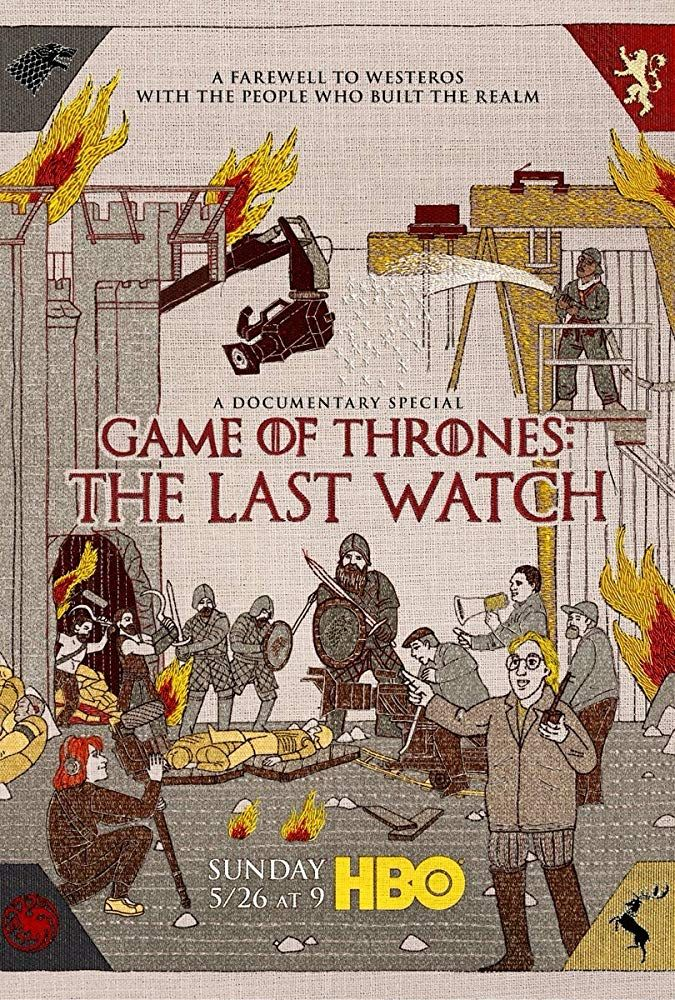 Latest Posters Watch game of thrones, The last watch