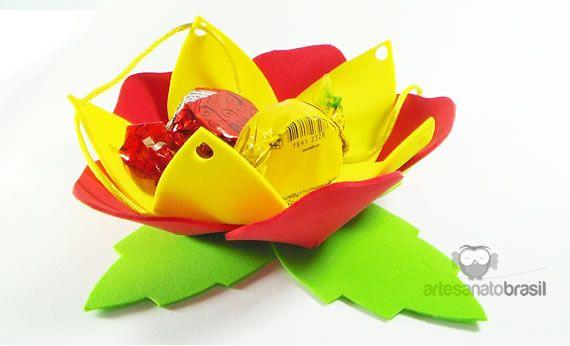 molde lembrancinhas dia das mães em eva com moldes_Pesquisa do Baidu