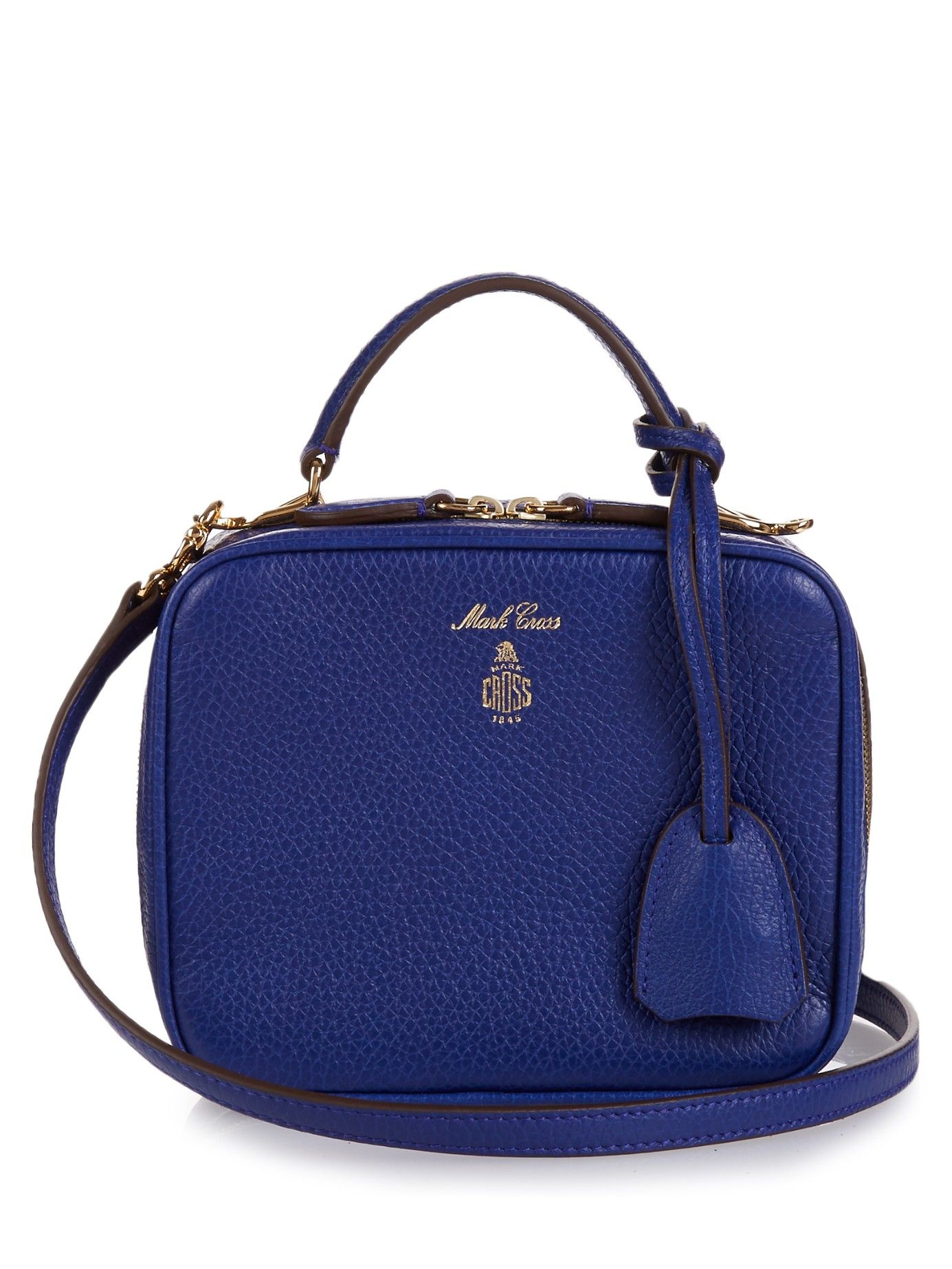 Laura Baby grained-leather shoulder bag | Mark Cross | MATCHESFASHION.COM US