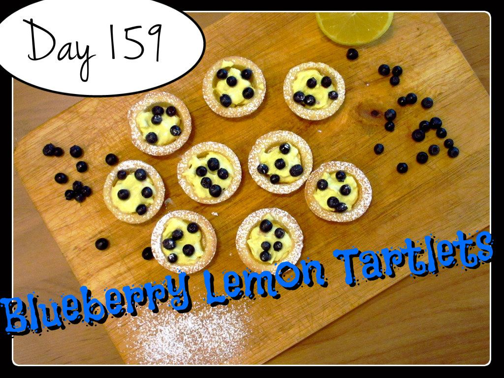 Blueberry Lemon Tartlets Recipe [DAY 159]  ★ watch the video: https://www.youtube.com/watch?v=OfM-7YN0jv8&index=15&list=PLGRnDhMJALhGSPvJl_zKgtNg2YZPaYf1S ★  I'm trying A NEW RECIPE OF Laura in the Kitchen EVERY DAY and sharing its conversion into the metric system, come and join me on my yummy challenge! :)