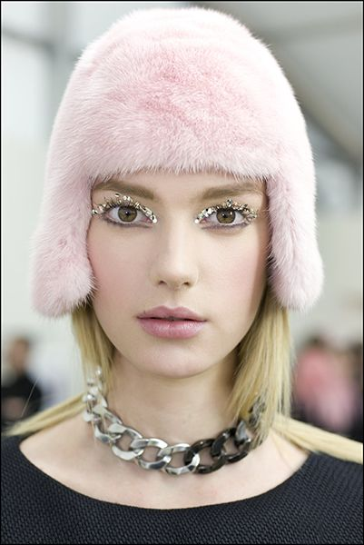 Chanel Runway Beauty: Glitter for Grown Ups | Backstage ...