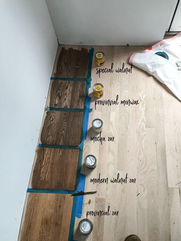 Hardwood Floor Stains on Red Oak hardwood hardwoodfloors