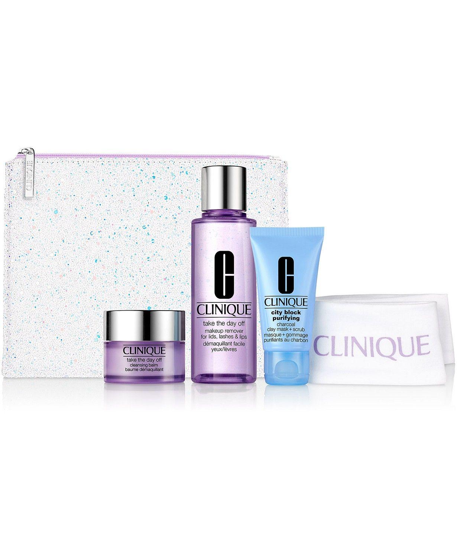 Clinique 5Pc. Cleansing By Clinique Set & Reviews Skin